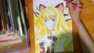 Speed Drawing : SeeU ( Vocaloid )/Tranh Vẽ Anime : SeeU ( Vocaloid )