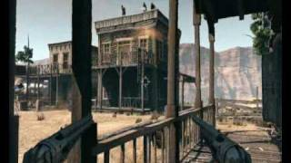 Call of Juarez - Bound in Blood (Gameplay) on HD 3850 + E5200
