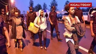 Polisi yafashe Diane Rwigara aho yari yihishe iwabo mu Kiyovu   Kigali 05 Nzeri 2017