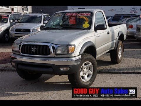2003 Toyota Tacoma Prerunner Sr5 Pick Up