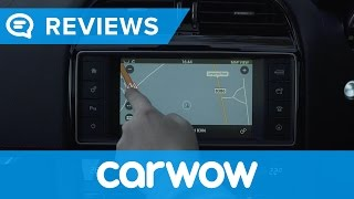 Jaguar F-Pace 2017 SUV infotainment and interior review   Mat Watson Reviews