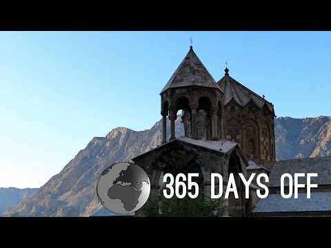 Episode 4 - Iran & Turkey - Tabriz & Van / 365 days off - Travel around the world