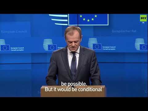 Tusk: Article 50 extension 'possible'