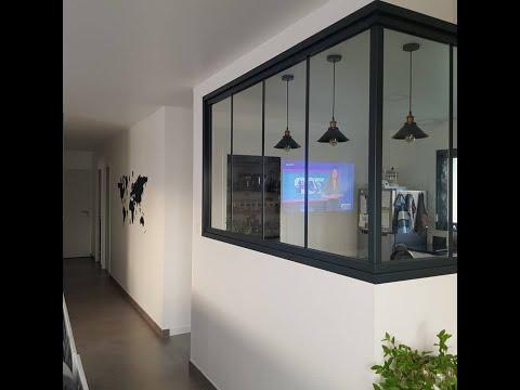 Création montage verrière en aluminium 7016 cuisine