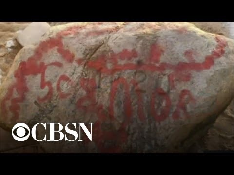 Plymouth Rock and Other Landmarks Are Vandalized in ...