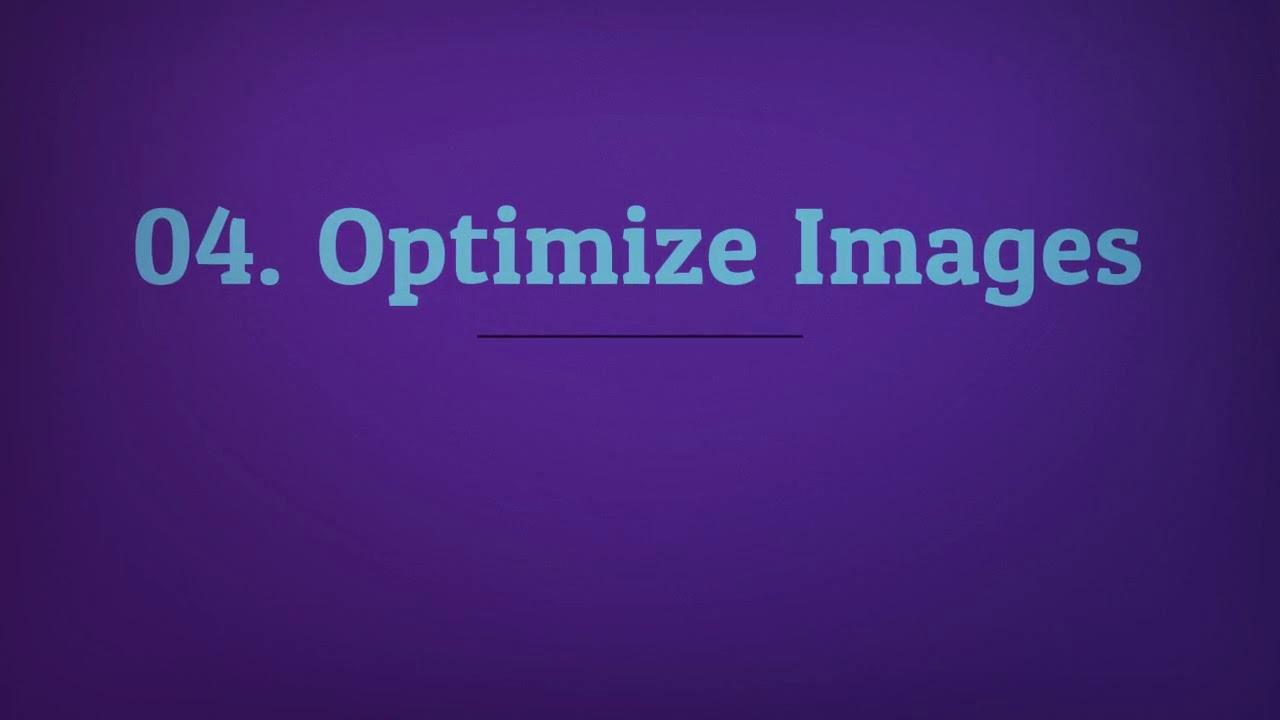 WordPress Optimization Tips - YouTube
