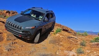 Hammering the Anvil: 2014 Trailhawk(KL) on Hell's Revenge