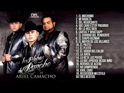 Los Plebes Del Rancho De Ariel Camacho Disco Completo 2016