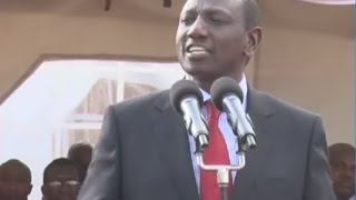 Carry your own cross, DP Ruto tells officials implicated in corruption