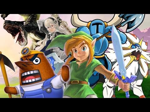 Top 25 Nintendo 3DS Games - Spring 2017 Update