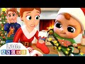 Gambar cover Deck The Halls | Christmas Song | Little Angel Nursery Rhymes & Kids Songs