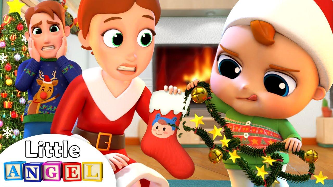 Download Deck The Halls   Christmas Song   Little Angel Nursery Rhymes & Kids Songs