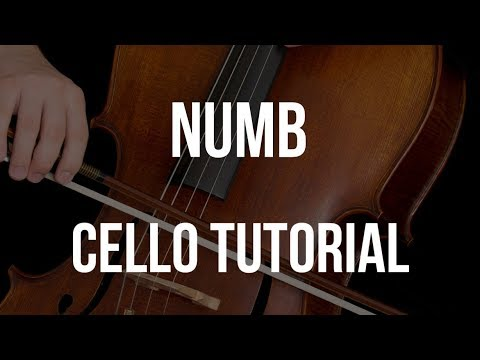 How to play Numb on Cello
