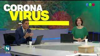 Transmisión especial de TELEFE NOTICIAS por el CORONAVIRUS