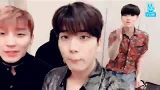 [ENG] B.A.P Daehyun & Zelo strip tease