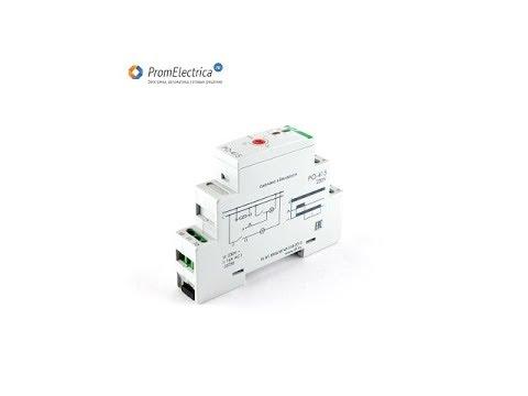 PO-415 Реле времени для вентиляции  230 Вольт AC, 24 Вольт AC/DC F&F