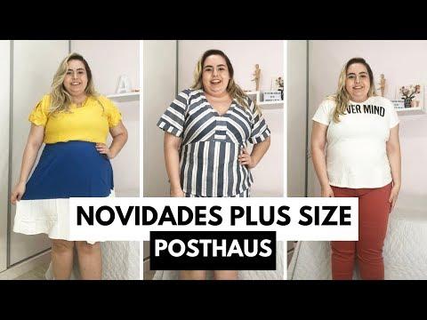 Novidades MODA PLUS SIZE Posthaus // Por Ana Luiza Palhares ❤️ #VEDA15