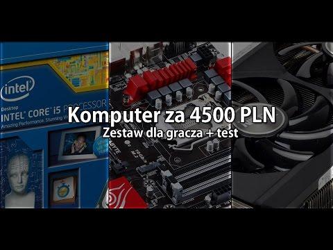 Składamy komputer za 4500 złotych - TEST | Gaming PC testing with Hyper M 600 | 01.2016