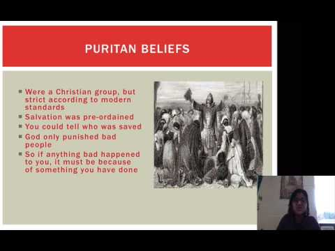 The Crucible Background 1: Puritans