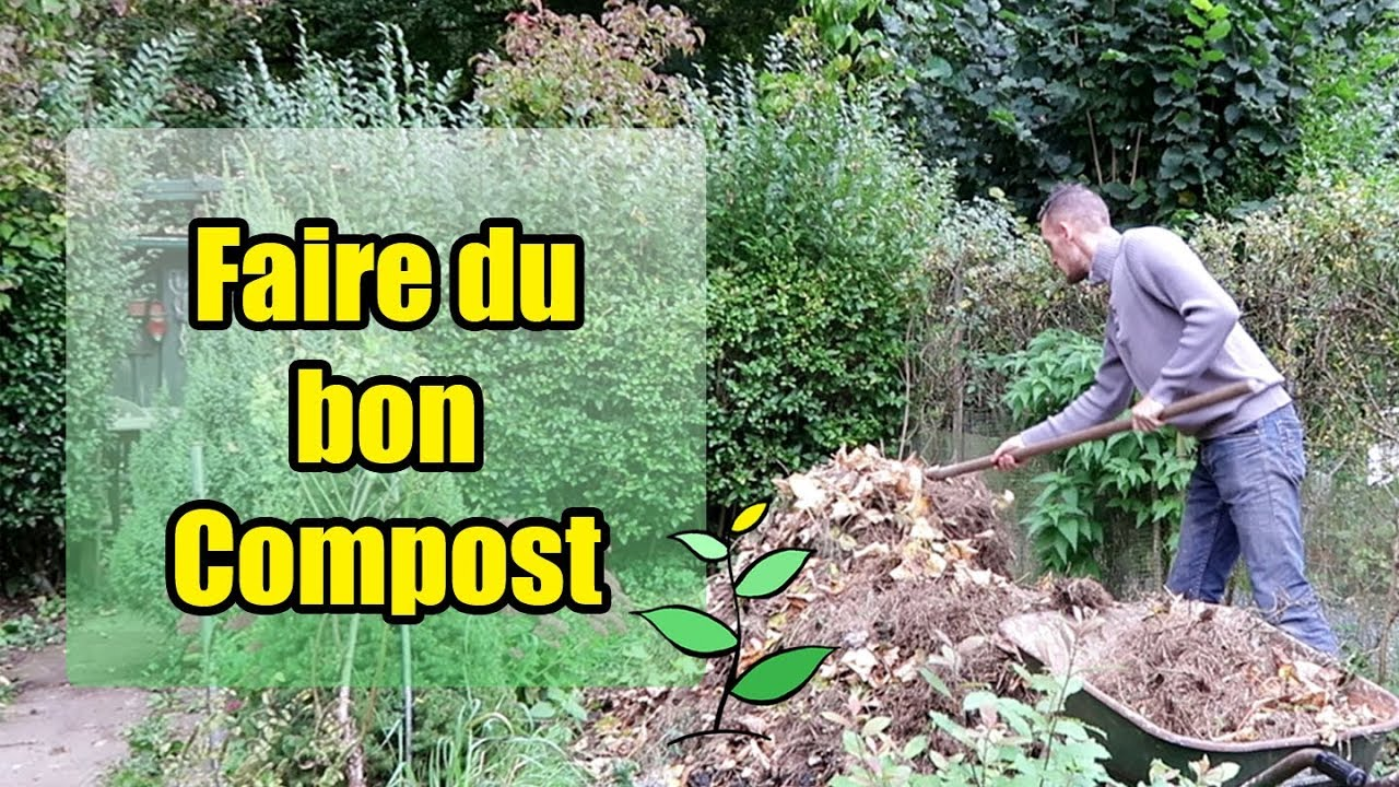 comment faire du bon compost youtube. Black Bedroom Furniture Sets. Home Design Ideas
