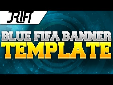 BLUE FIFA BANNER