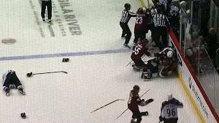 Gotta See It: Rinaldo sucker punches Girard, brawl ensues
