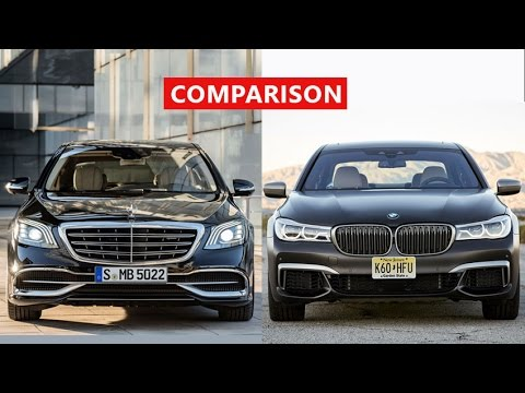 2018 Mercedes-Benz S-Class vs 2018 BMW 7 Series Comparison - INTERIOR, EXTERIOR, TEST DRIVE