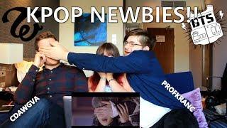 Non-Kpop fans react to Kpop!! BTS & TWICE【Xina + CDawgVA + ProfKranc】