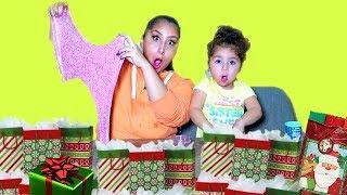 Don't Choose the Wrong Mystery Christmas Bag SLIME Challenge!