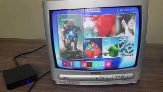 (0.11 MB) Como transformar a TV de TUBO em SMART TV e como conectar o TVBOX com cabo RCA Mp3