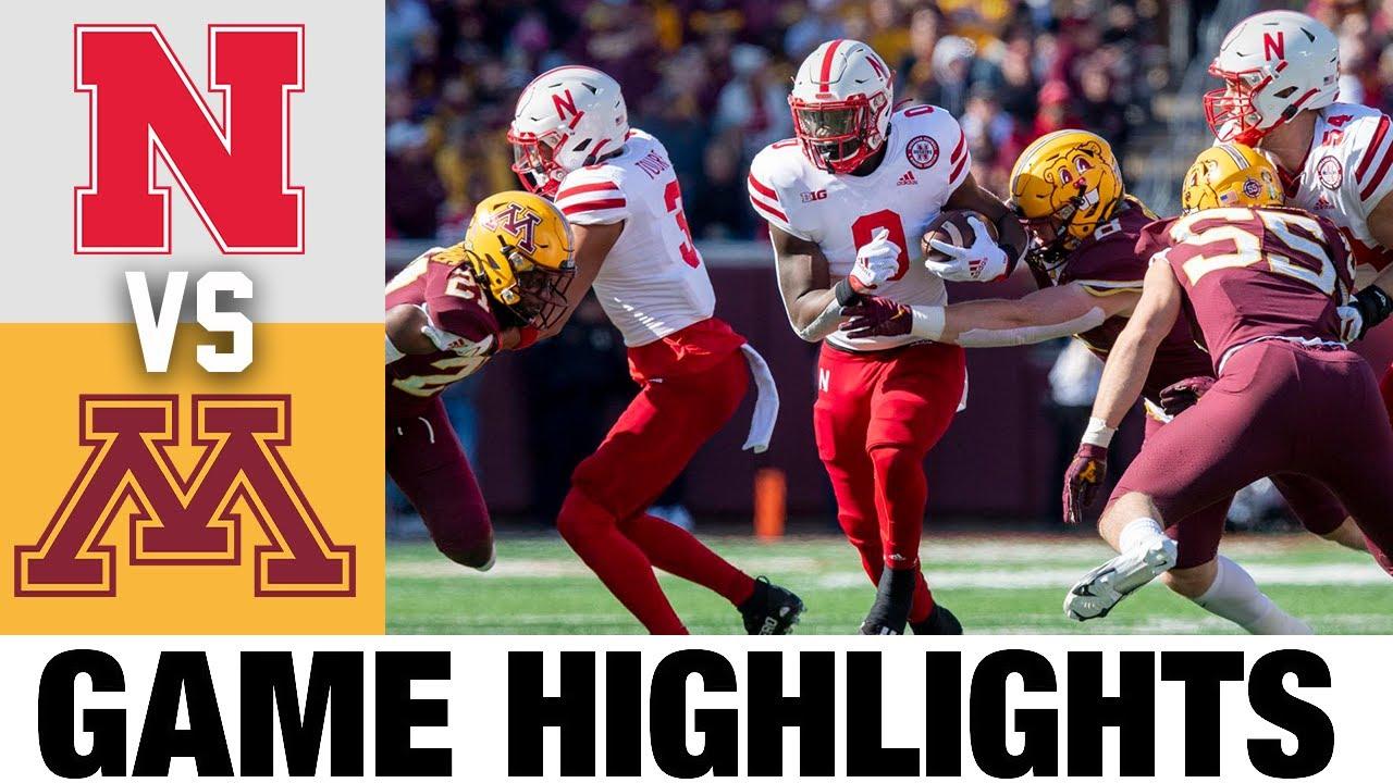 Nebraska vs Minnesota   Week 7   2021 College Football