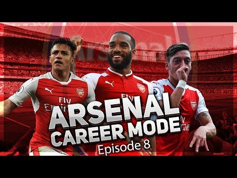 FIFA 18 Arsenal Career Mode | Episode 8 - FIRST NORTH LONDON DERBY!!! | 💥 AFTV Young Gunz 💥
