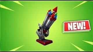 THE NEW -BOTTLE ROCKETS- EXPLOSIVE ITEM COMING TO FORTNITE! GAME BREAKING-