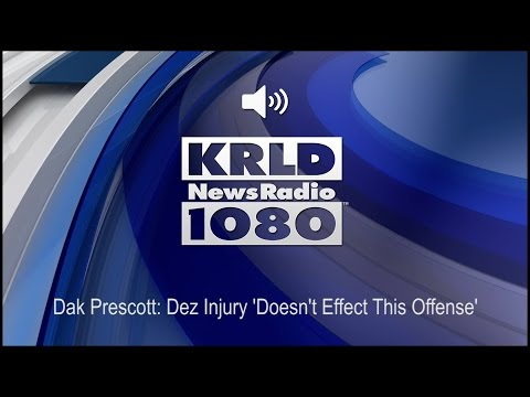 Dak Prescott: Dez Injury