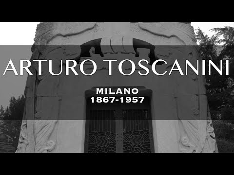 263: Toscanini Family Tomb in the Monumental Cemetery of Milan