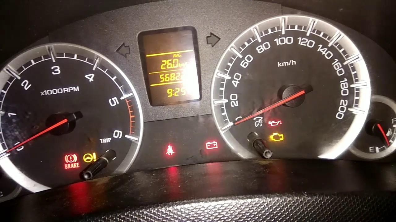 Suzuki Swift Tyre Pressure