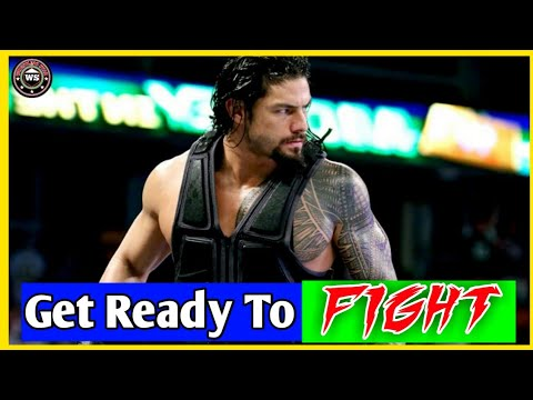 Get Ready To Fight | Ft.Roman Reigns | Workout | Roman Reigns Song | Wwe Hindi Song