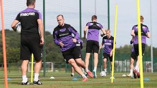 Stoke City Training Days