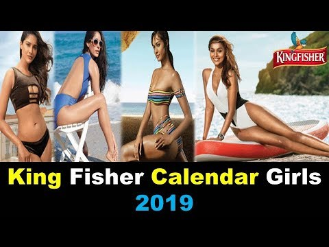 Kingfisher Calendar Girls 2019 : Bikini Photoshoot से इन हसीनाओं ने लगाई आग  |Calendar Girls  2019 |