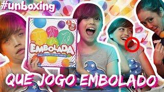 🎾 EMBOLOU TUDO AQUI FIO 🙆 | 🎁 Unboxing de Brinquedo: Jogo Embolada 🏃♀️