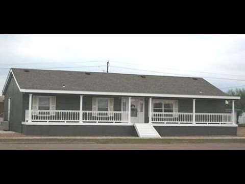 Canyon Lake 4 bed 2 living Top Cavco Doublewide mobile home video in Texas