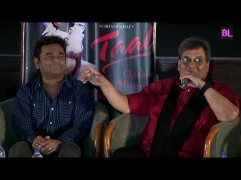 Sukhwinder Singh, Subhash Ghai and A.R Rahman at screening of classical film Taal
