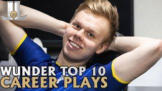 Wunder Top 10 Career Plays  LoL esports