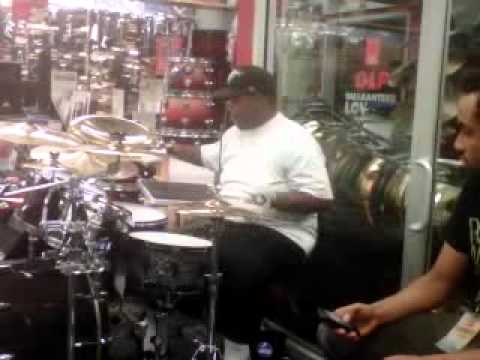 demarques dstix pearl 2011 guitar center drum off indianapolis indiana youtube. Black Bedroom Furniture Sets. Home Design Ideas