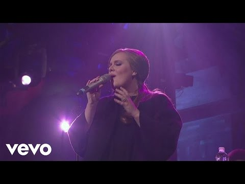Adele  Lovesong  on Letterman