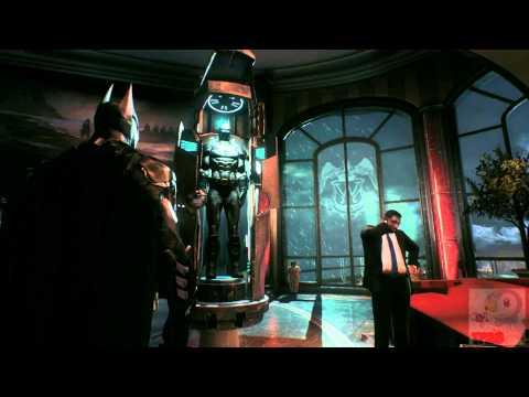 Batman: Arkham Knight - Wayne Tower Hidden Batsuit (Easter Egg)