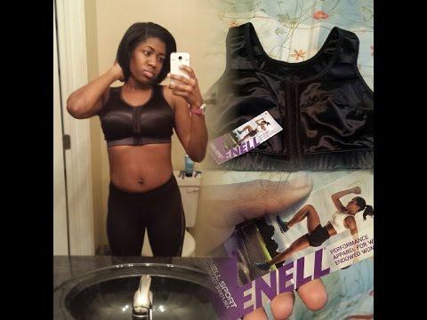 enell high impact sports bra