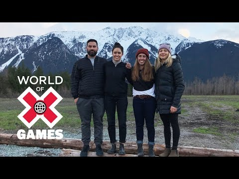 Girls Trip: Maddie Bowman, Maggie Voisin and Tatum Monod | X Games