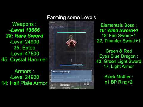 [Playthrough] Inflation RPG ► Items Farming #6 ♦ [Weapons N°16-28-35★Armors N°14★1°BP Ring+2]
