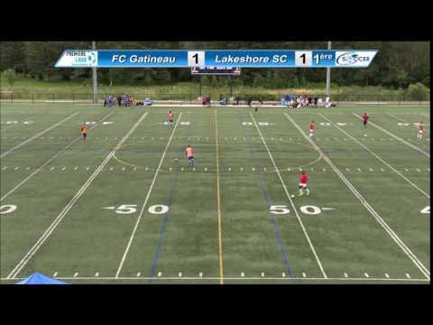 Coupe PLSQ demi-finales aller 2016 08 14 FC Gatineau VS Lakeshore SC